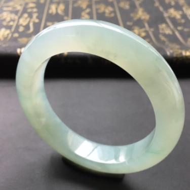 糯冰种晴水手镯(57.5mm)
