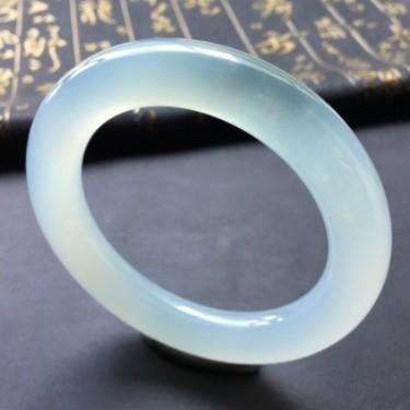 冰种晴水圆条手镯(58.6mm