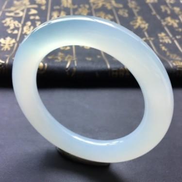 冰种晴水圆条手镯(58mm)