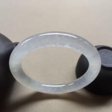 冰种白冰圆条福镯 51mm