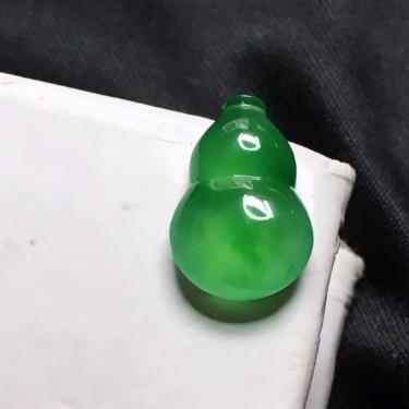 冰种阳绿葫芦