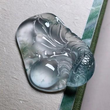 高冰飄彩魚牌