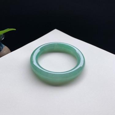 细糯种满色圆条手镯57mm