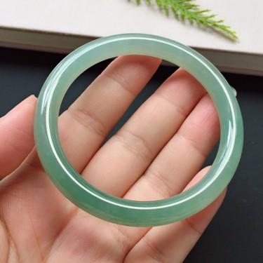 圓條52.4mm,糯化種晴水手鐲