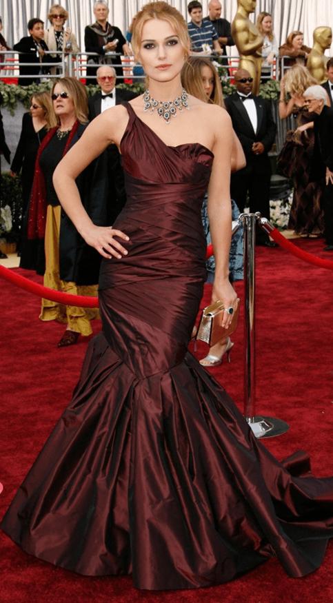 明星凯拉戴宝格珠宝出席颁奖典礼