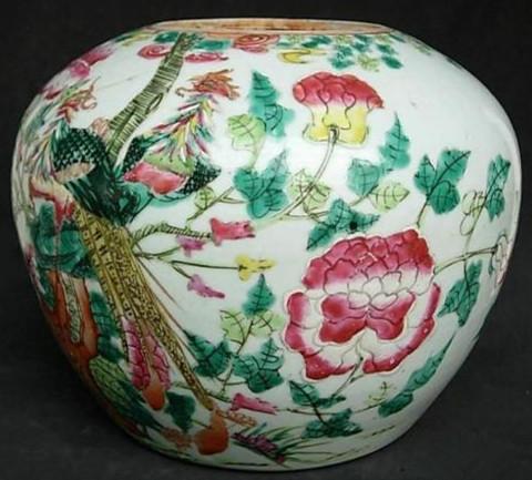 民窑粉彩瓷器
