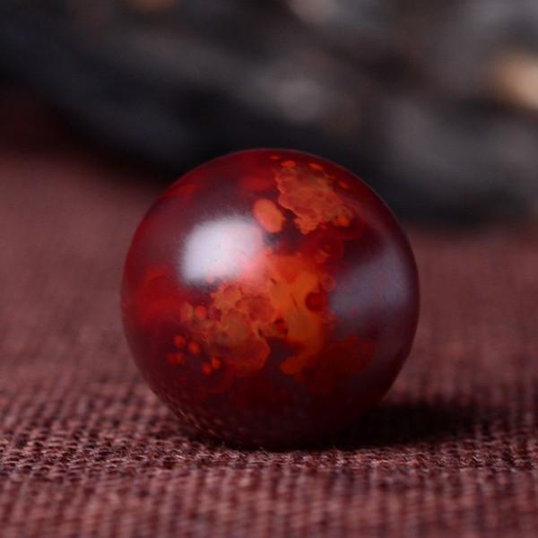 南红玫瑰红圆珠