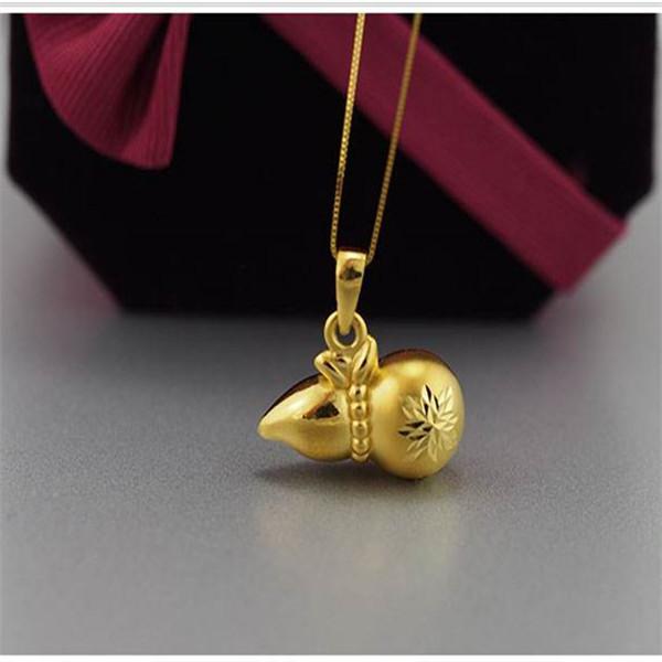 黄金吊坠葫芦