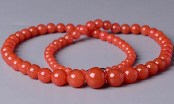 宝玉石级南红樱桃红塔链