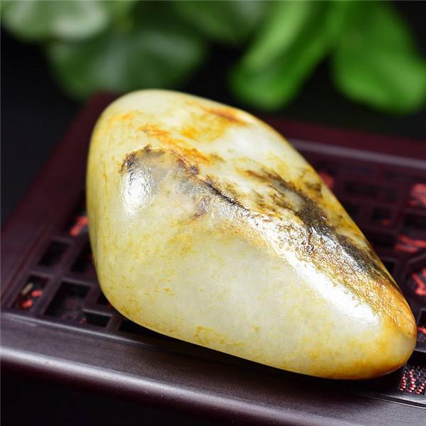 和田玉白玉籽料原石