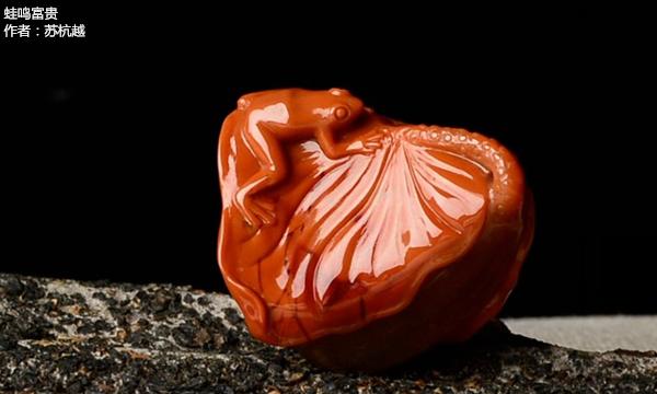 南红玉雕作品