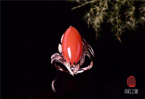 樱桃红戒指