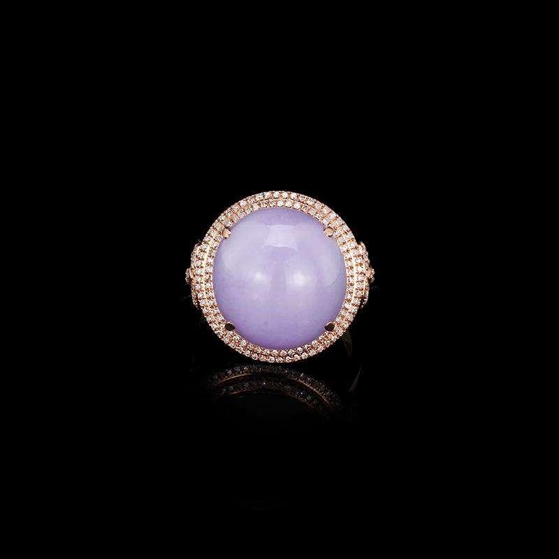 紫罗兰翡翠明料在云南价值
