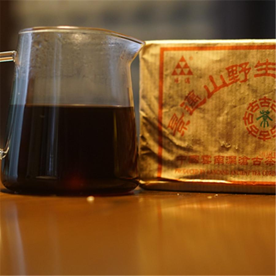 2004年景迈古树熟茶