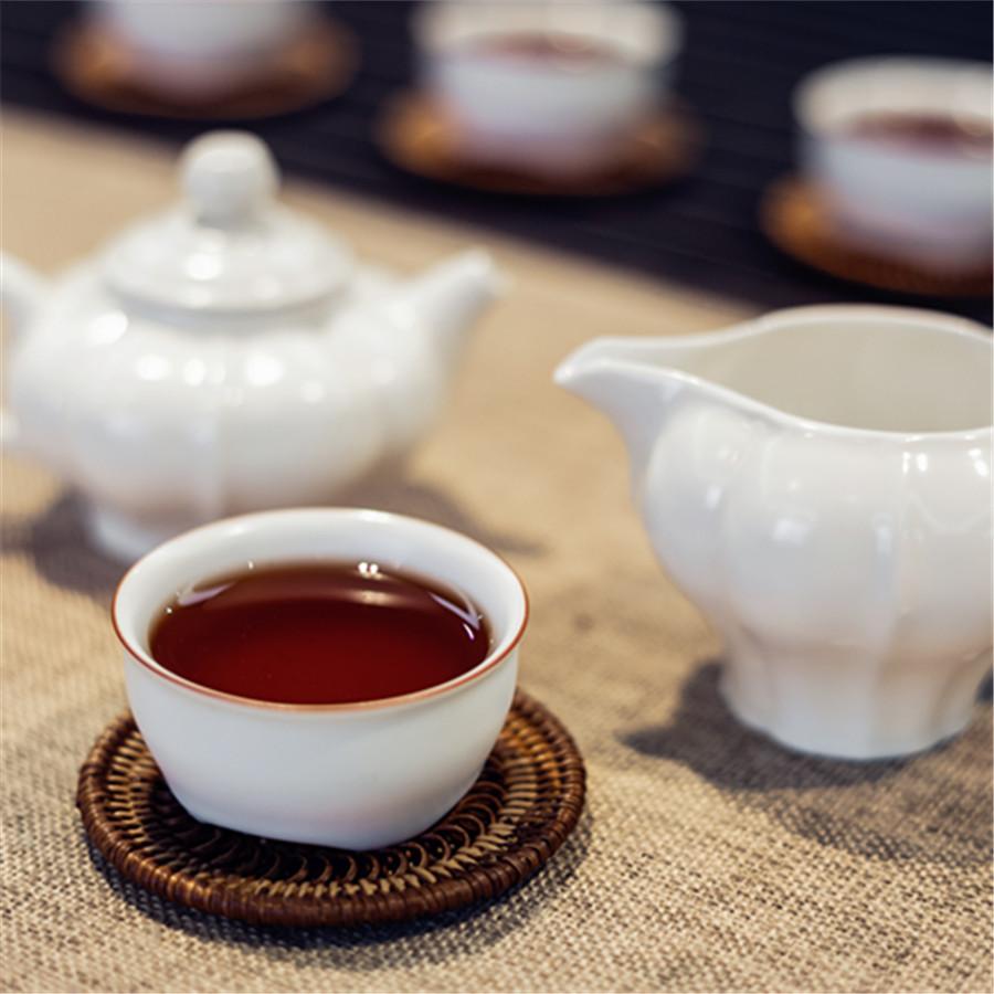 慢得乐•熟茶357g筒装