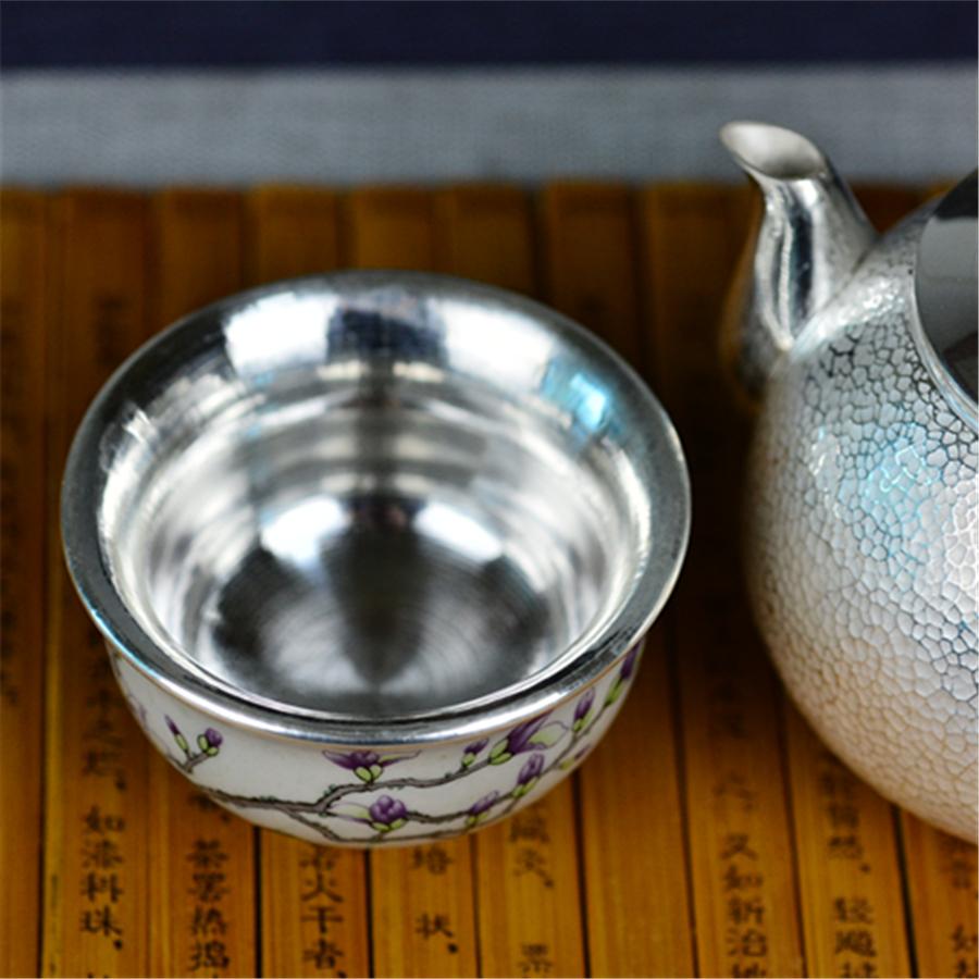 【超值】玉兰芬芳手工包银杯