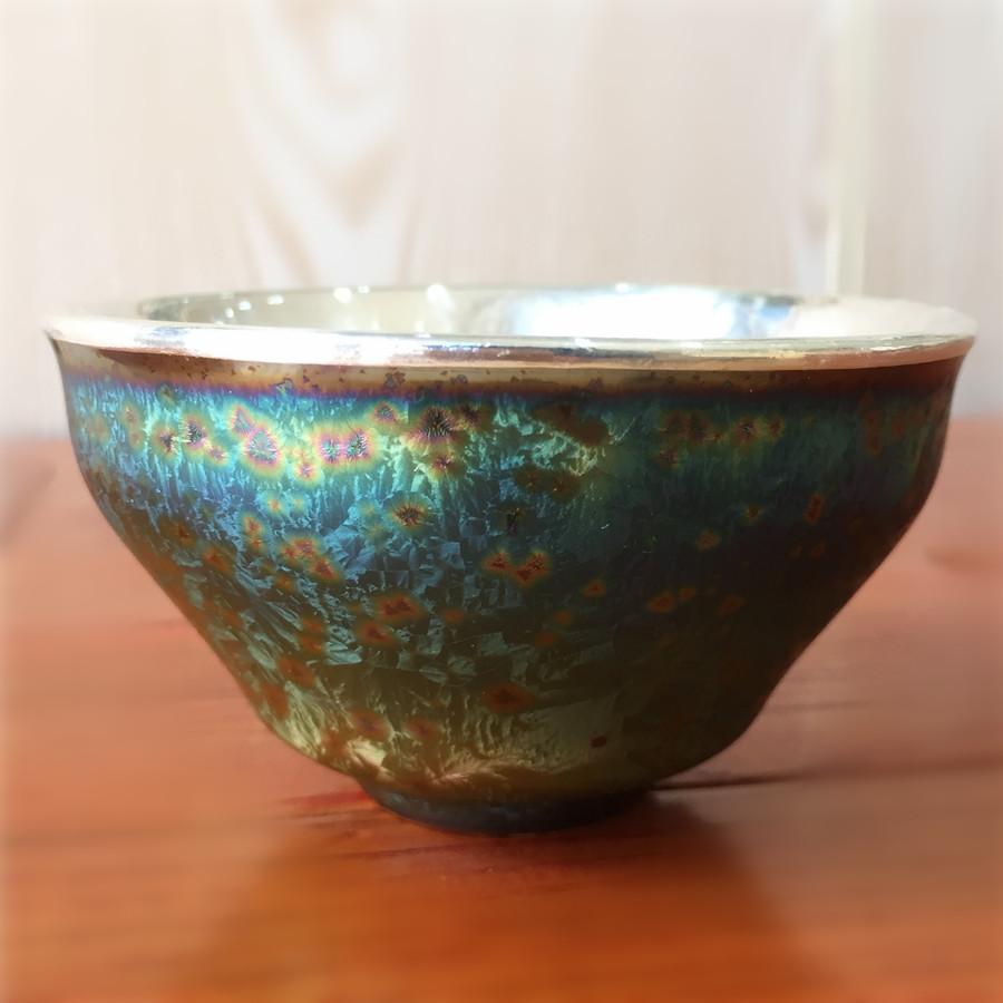 时尚炫彩釉(大)手工包银杯