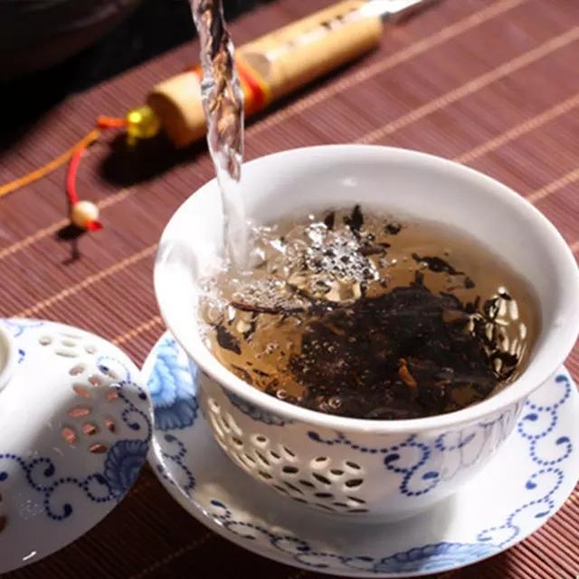 7年陈小金瓜熟茶